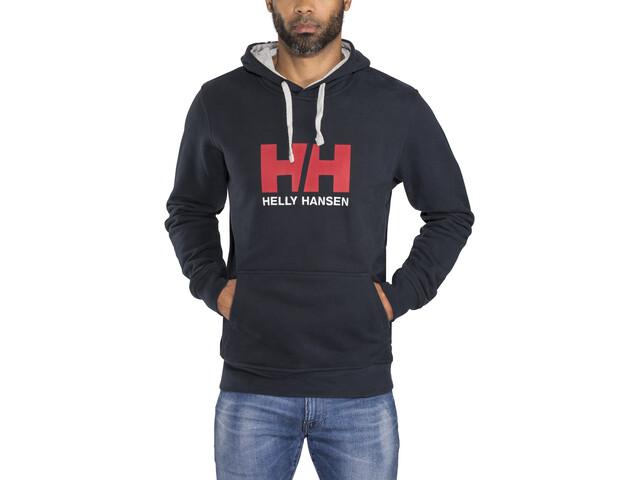 Helly Hansen HH Logo Hoodie Herre navy